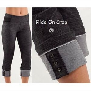 Lululemon ride on crop